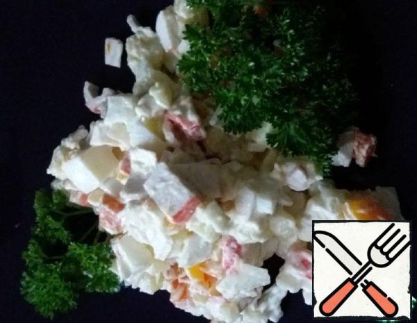 "Salad ""Extemporization"" Recipe"