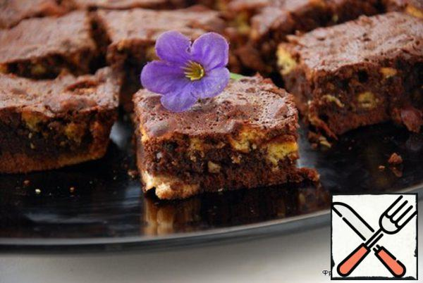 Brownies with Cookies and Nuts Recipe
