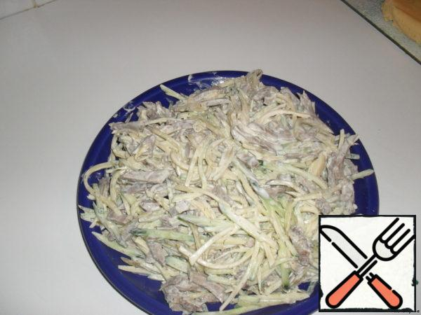 "Salad ""Chamberlain"" Recipe"