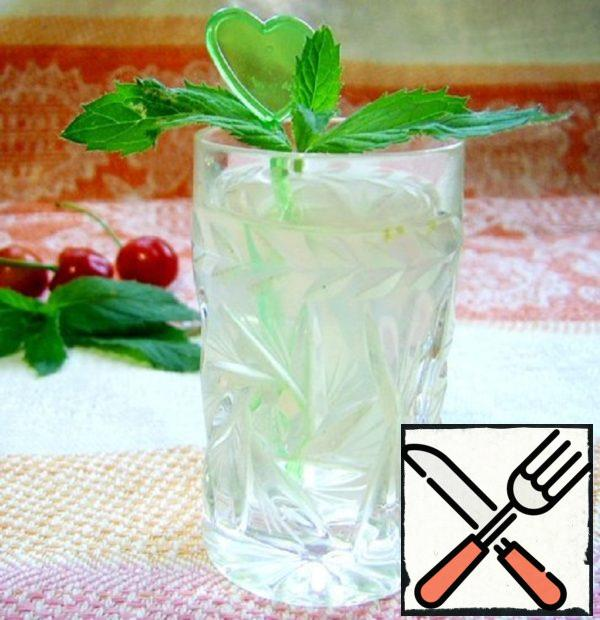 "Mint Drink ""Mint Freshness"" Recipe"