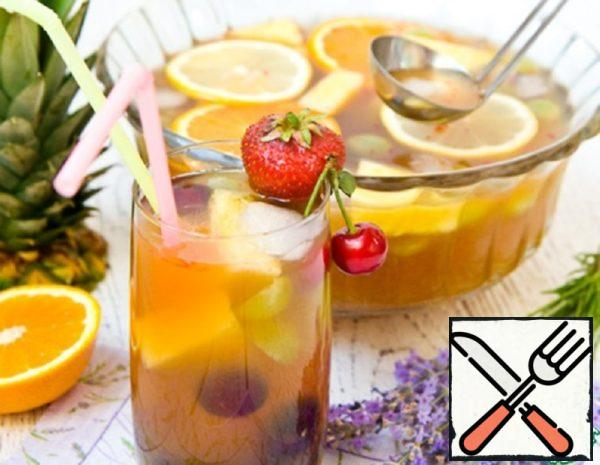 Fruit and Tea Punch Recipe