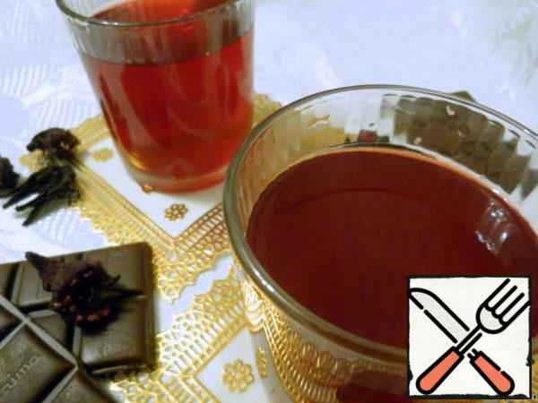 Non-Alcoholic Mulled Wine from Hibiscus Recipe