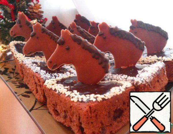 """New Year's Brownies """"Horse's Move"""" Recipe"""
