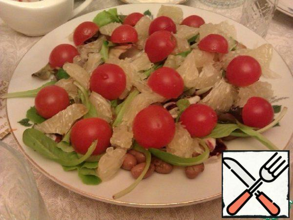 Salad with Beans and Pomelo Recipe