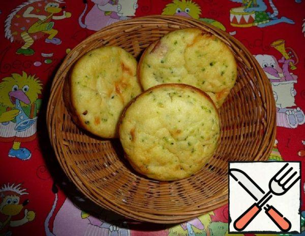 Muffins on Kefir with Broccoli Recipe