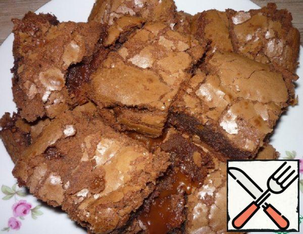 Chocolate Brownies with Caramel Recipe