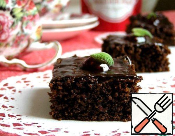 Brownies with Raspberry Jam Recipe