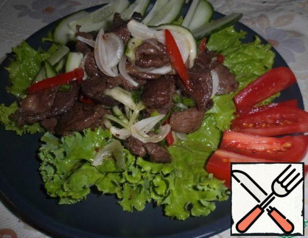 Salad of Lamb in Thai Recipe