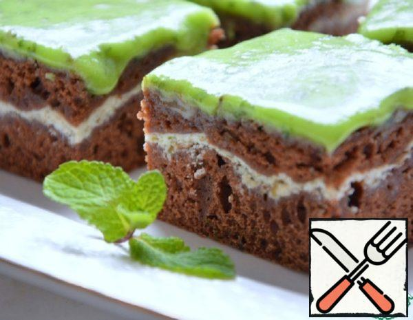 Chocolate-Mint Brownies Recipe
