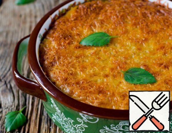 Pumpkin Gratin with Rice and Quinoa Recipe