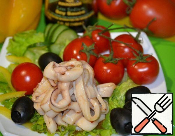 Unusual marinated Squid Rings Recipe