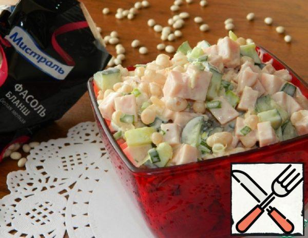 Bean Salad with Ham Recipe