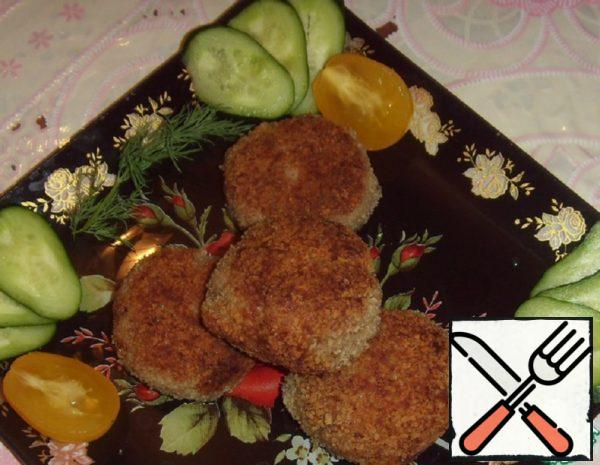 Cutlets with Zucchini and Rice Recipe