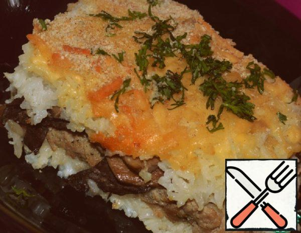 Rice Gratin Recipe