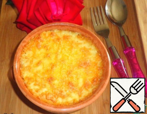 Gratin of Minced Meat and Rice Flakes Recipe