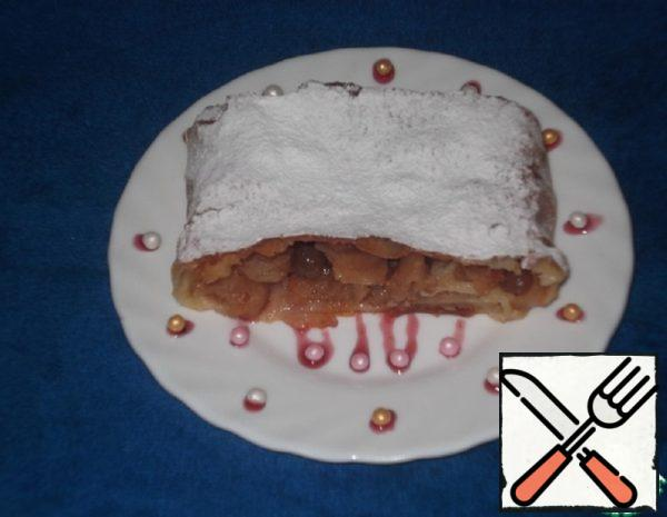 Apple Strudel with Nuts Recipe