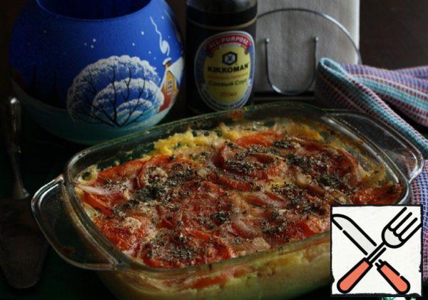 Gratin from Polenta Recipe