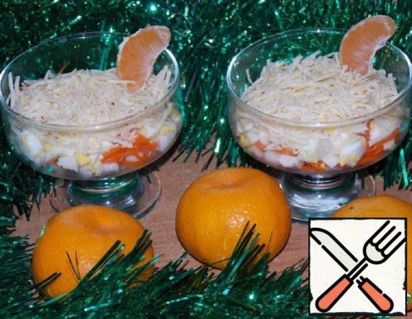 "Salad ""New Year"" Recipe"