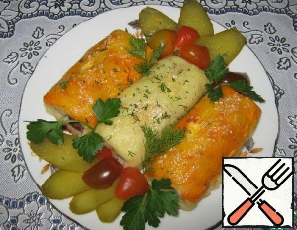 Potato Rolls with Meat Recipe