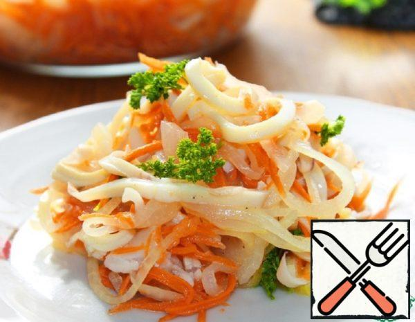 Salad with Squid and Pickled Onions Recipe