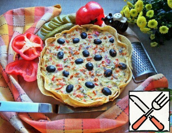 Pie-Casserole on a Tortilla Recipe