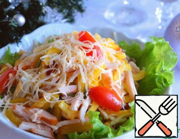 "Salad ""New Year's Party"" Recipe"