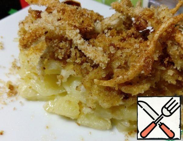 Potato and Cheese Gratin Recipe