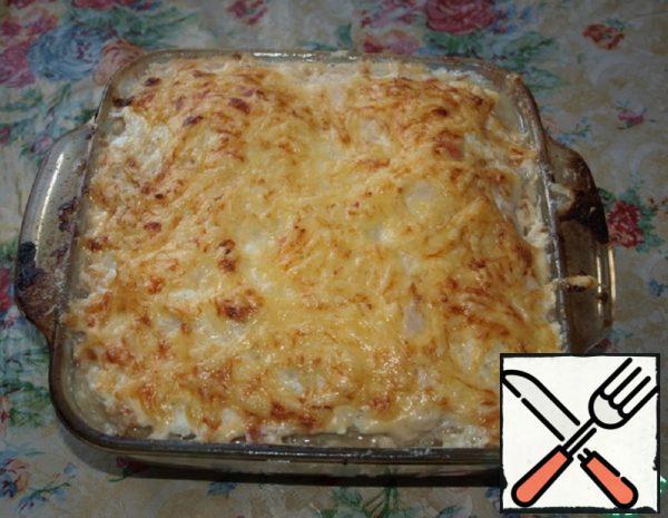Zucchini Casserole with Minced Meat Recipe