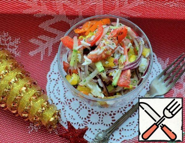 "Salad ""New Year Salute"" Recipe"