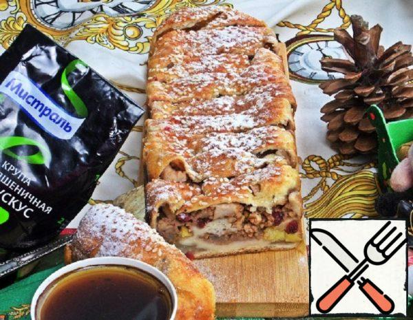 Strudel with Pear and Apple Recipe