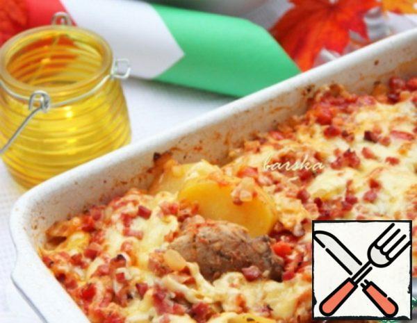 Potato Gratin with Pork Tenderloin Recipe
