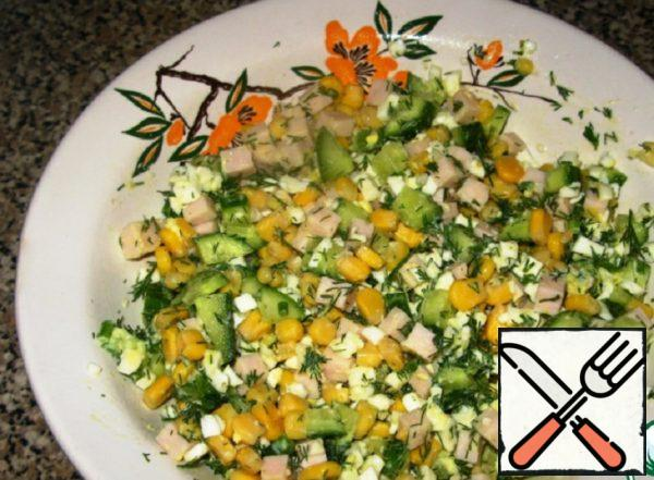 "Salad ""Tenderness"" Recipe"