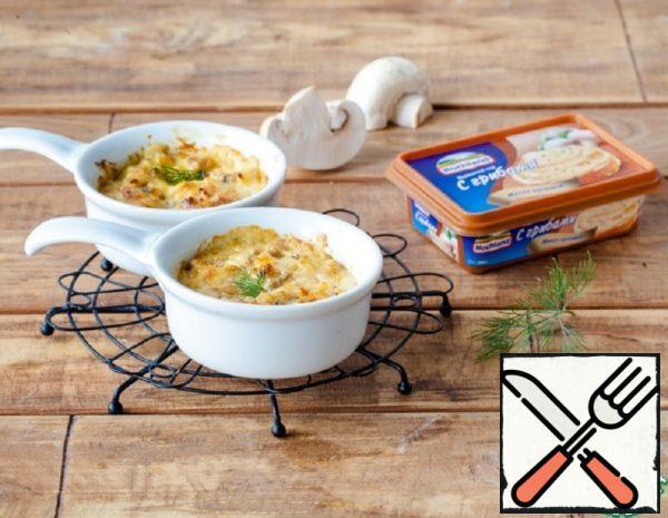 Chicken Julienne with Mushrooms Recipe