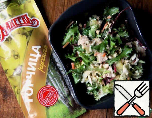 Salad Mix with Cod Liver Recipe