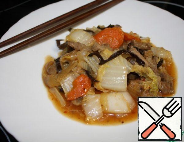 Beijing Cabbage with Pork Recipe