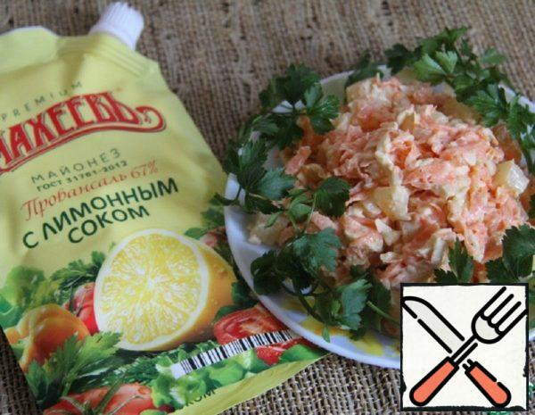 Carrot-Pineapple Salad Recipe