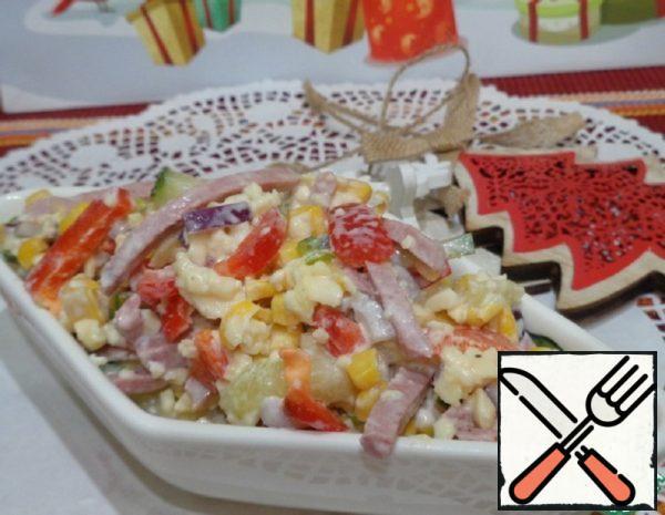 Sausage Salad Recipe