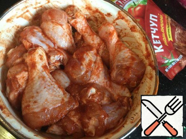 Mix well and leave to marinate for at least 30 minutes.