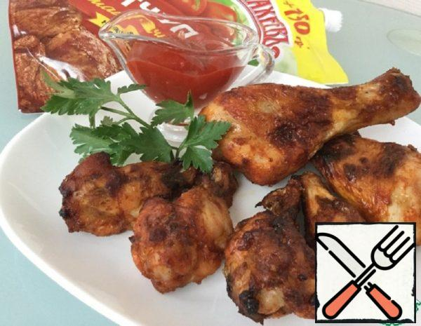 Spicy Chicken Wings and Drumsticks Recipe