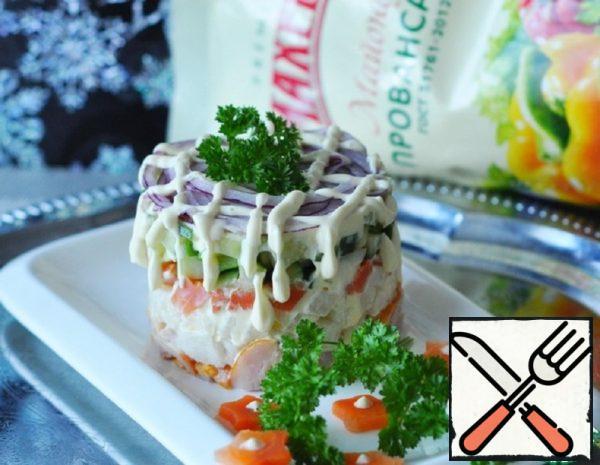 "Salad ""Mosaic"" Recipe"