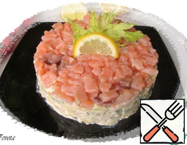 Avocado Salad with Salmon Recipe