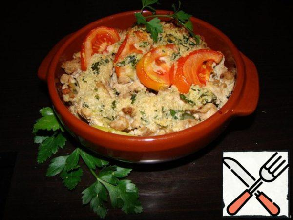 Tomato Gratin with Meat Recipe