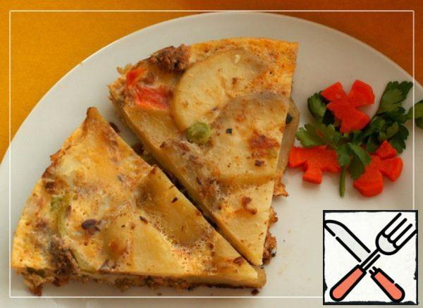 Potato Tortilla with Tuna Recipe
