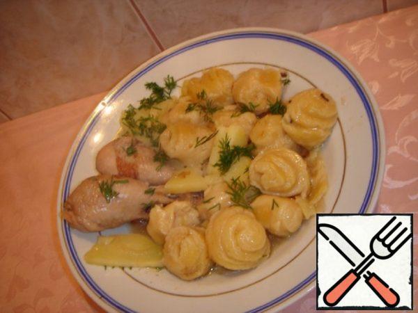 German Strudel with Chicken Recipe