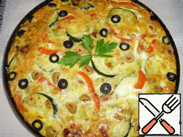 "Olive-Cheese Tortilla ""Mediterranean"" Recipe"