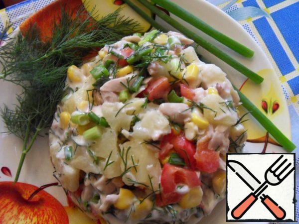"Salad ""Fairy Tale"" Recipe"