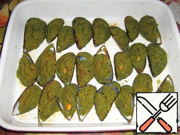 Mussels Gratinate Recipe