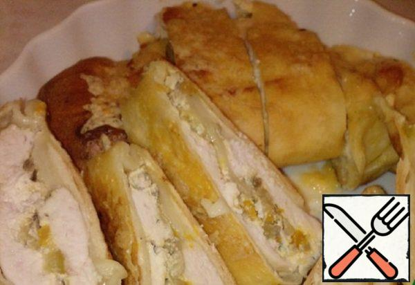 Chicken Strudel with Vegetables Recipe