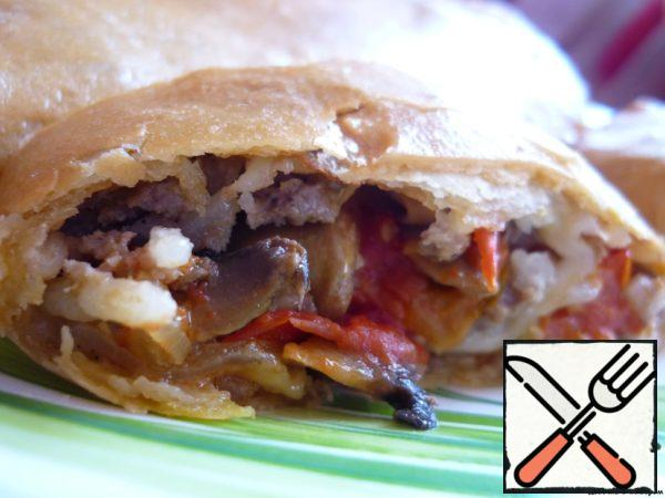 Strudel with Meat Recipe