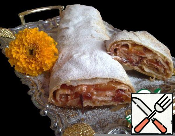 Plum Strudel in Pita Bread Recipe